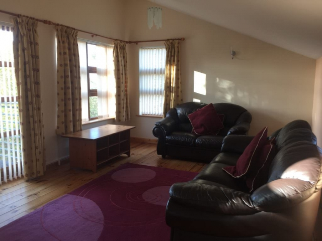 Findhorn Bay Holiday Park Chalet Lounge with views to Findhorn Bay