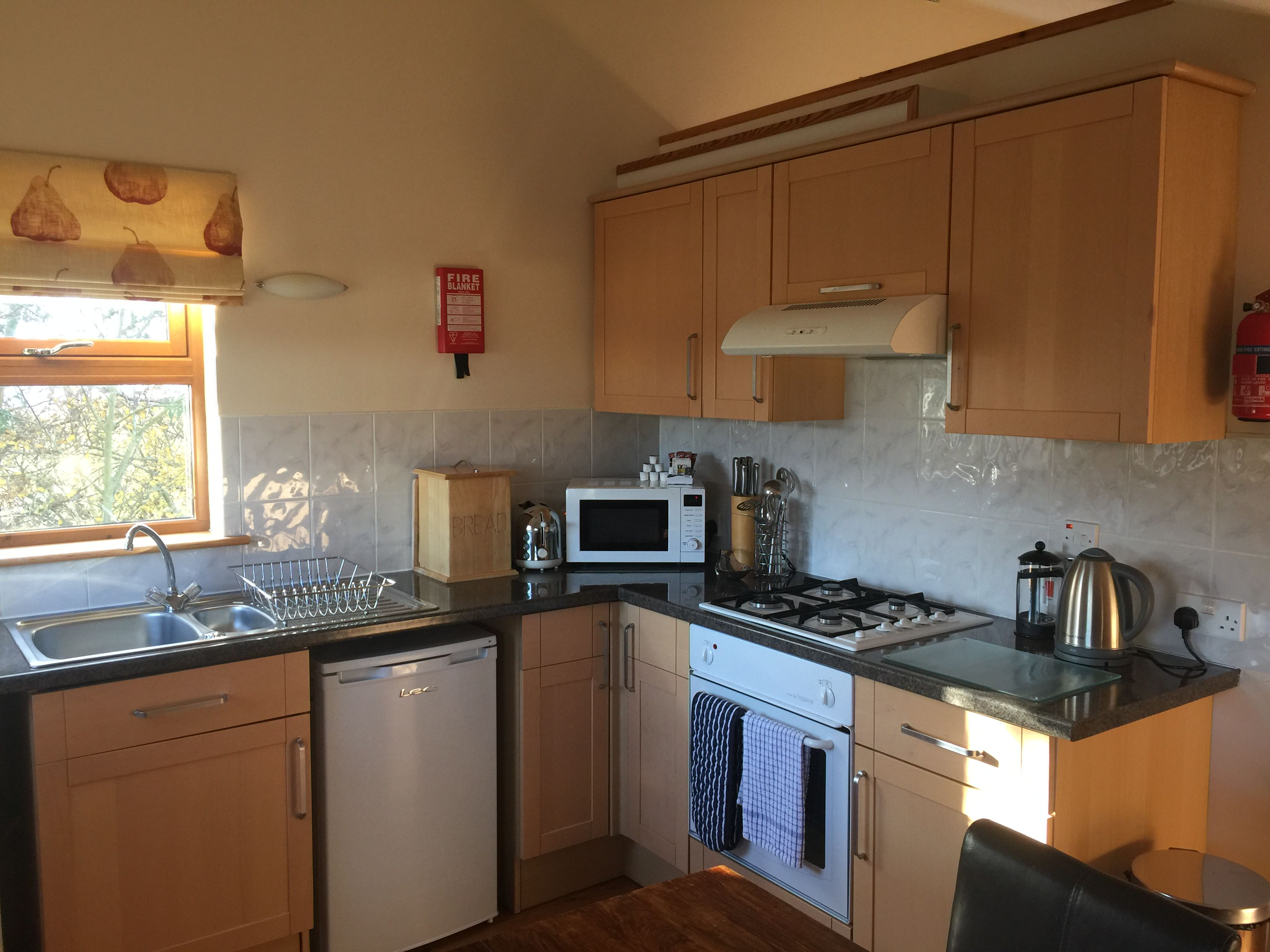 Findhorn Bay Holiday Park Chalet Kitchen