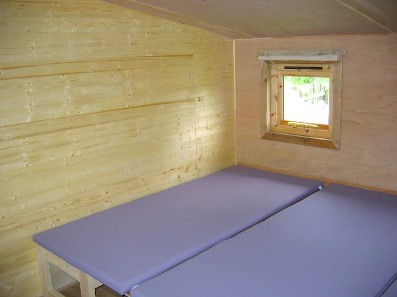 Findhorn Bay Holiday Park Eco Cabin