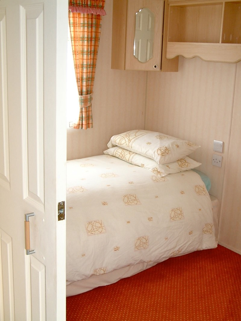 Findhorn Bay Holiday Park Mobility Caravan Bedroom